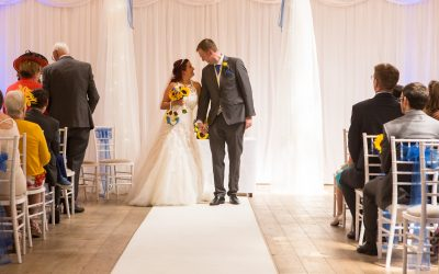 Wedding Photography at Marwell Hotel