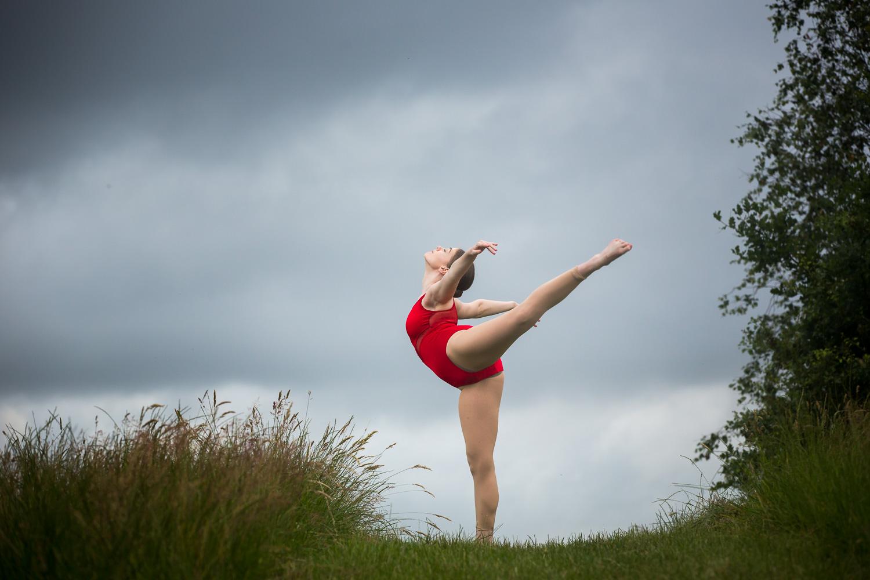 Hampshire dance photographer - arabesque